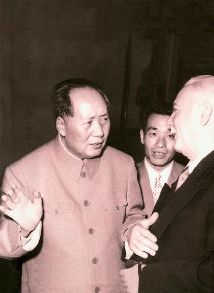 李越然先生全程见证五十年代中苏关系结盟到破裂