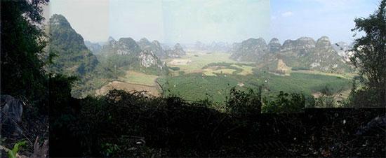 墓地风水图片欣赏-广西风水明堂