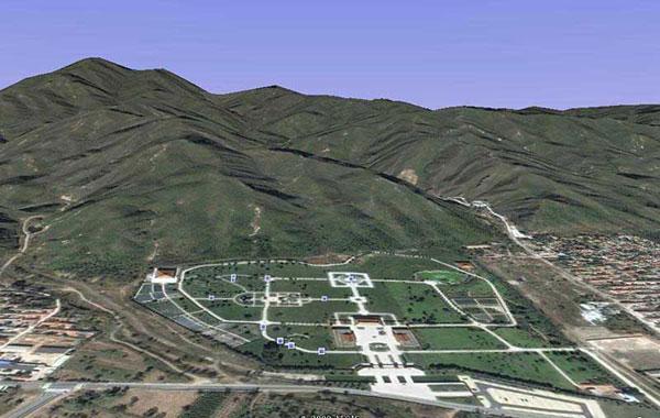 十三陵风水�_似乎平平无奇天寿陵园的风水规划布局占尽了天寿山——十三陵盆地的