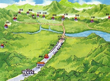 十三陵风水图片欣赏