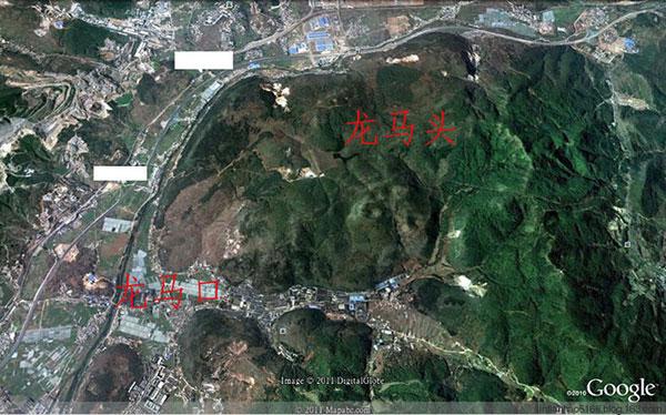 【图解】墓地风水形峦赏析之七-点穴