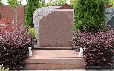 紫霞园十区立碑